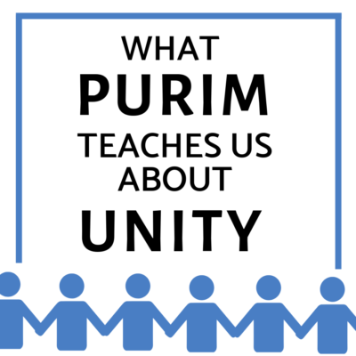 What Purim Teaches Us About Unity