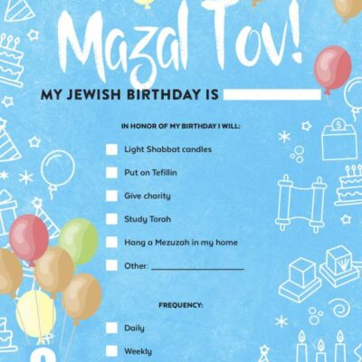 Jewish Birthdays